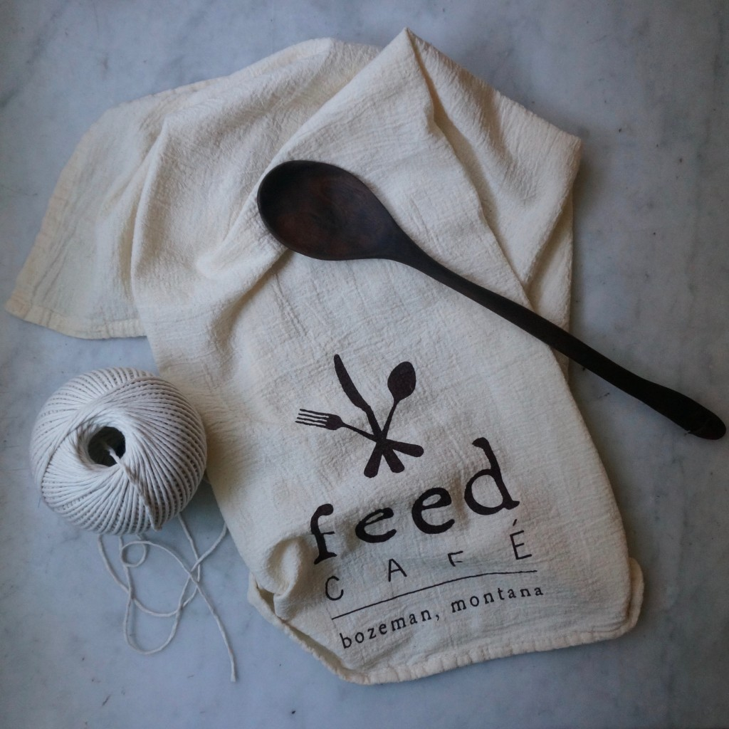 Feed dish towel