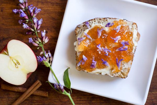 sage blossom toast special
